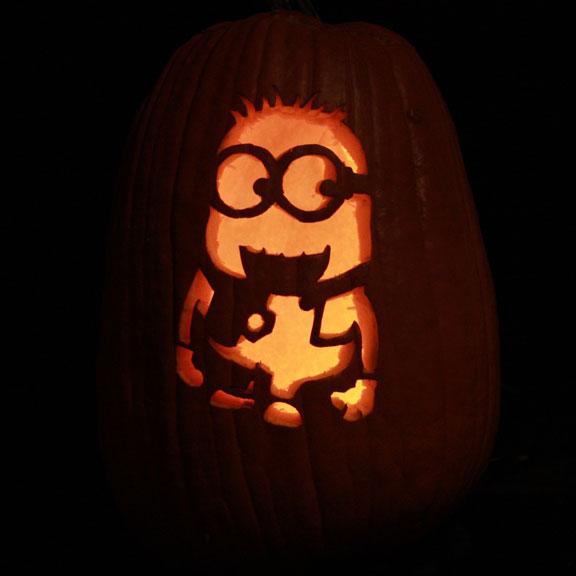 Go back gt gallery for gt minion pumpkin stencil